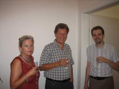 Brigitte, Hans-Georg, Reinhard